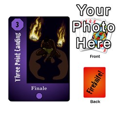 Fireknife 2 Of 2 By Peter Drake   Playing Cards 54 Designs   Pwza8qxy5gxy   Www Artscow Com Front - Diamond5