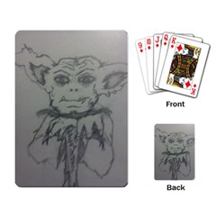 Cutie Creature Playing Cards Single Design by WispsofFantasy