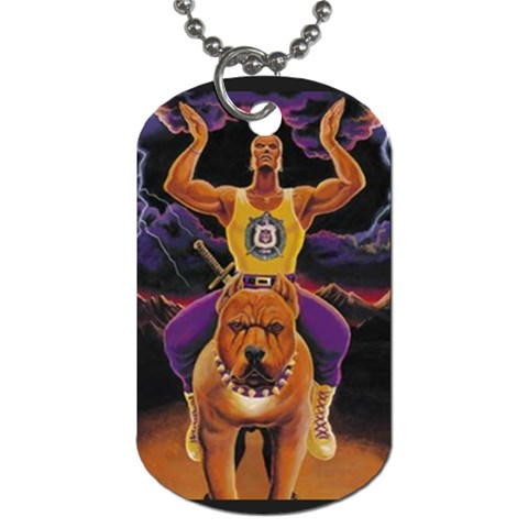 Gift For Fred By Donna Legette   Dog Tag (one Side)   Tmbfymt8tsk4   Www Artscow Com Front