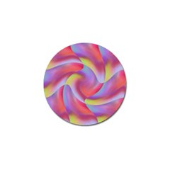 Colored Swirls Golf Ball Marker by Colorfulart23