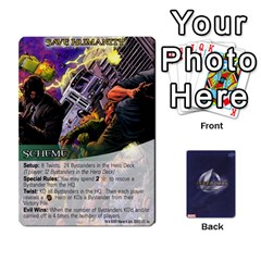 Schemes Ultron Acolytes New Mm By Mark   Playing Cards 54 Designs   Mx1cbd9gajwr   Www Artscow Com Front - Spade4
