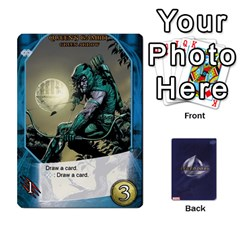 Schemes Ultron Acolytes New Mm By Mark   Playing Cards 54 Designs   Mx1cbd9gajwr   Www Artscow Com Front - Diamond4