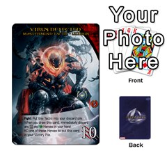 Schemes Ultron Acolytes New Mm By Mark   Playing Cards 54 Designs   Mx1cbd9gajwr   Www Artscow Com Front - Club2
