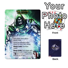 Schemes Ultron Acolytes New Mm By Mark   Playing Cards 54 Designs   Mx1cbd9gajwr   Www Artscow Com Front - Club7