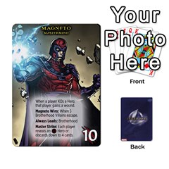 Schemes Ultron Acolytes New Mm By Mark   Playing Cards 54 Designs   Mx1cbd9gajwr   Www Artscow Com Front - Club9