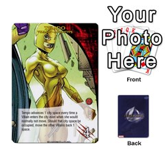 King Schemes Ultron Acolytes New Mm By Mark   Playing Cards 54 Designs   Mx1cbd9gajwr   Www Artscow Com Front - ClubK