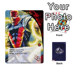 Ace Schemes Ultron Acolytes New Mm By Mark   Playing Cards 54 Designs   Mx1cbd9gajwr   Www Artscow Com Front - ClubA
