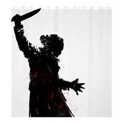 psycho KILLER Shower Curtain 66  x 72  (Large) by Contest1741083