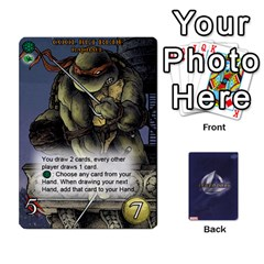 Tmnt 1 By Mark   Playing Cards 54 Designs   Dhapua3eqdd3   Www Artscow Com Front - Spade7