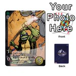 TMNT 2 - Playing Cards 54 Designs