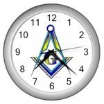 S-C GMOTMS Wall Clock (Silver)