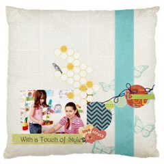 Kids By Kids   Large Cushion Case (two Sides)   B0cbq3hae7x8   Www Artscow Com Back