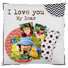 Kids By Kids   Large Cushion Case (two Sides)   Uhs00qtrn4a9   Www Artscow Com Back