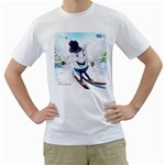 Stakasha hero of Russia - Men s T-Shirt (White)