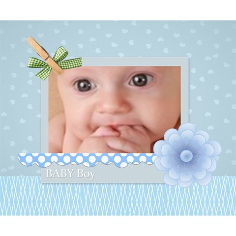Baby By Joely   Deluxe Canvas 14  X 11  (stretched)   Bfftorh4iwbc   Www Artscow Com 14  x 11  x 1.5  Stretched Canvas