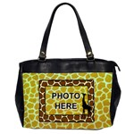 Giraffe oversize office bag - Oversize Office Handbag (2 Sides)