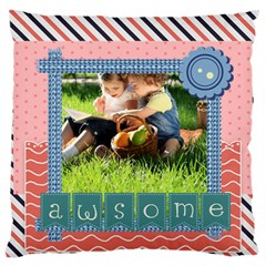 Kids By Kids   Large Cushion Case (two Sides)   Qtmjjupyp7ys   Www Artscow Com Front