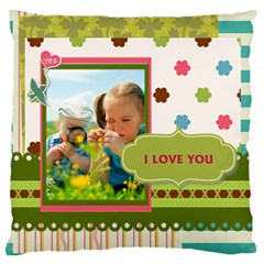 Kids By Kids   Large Cushion Case (two Sides)   Wl5i97nw1w81   Www Artscow Com Back
