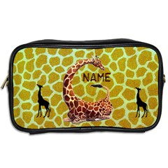 Giraffe Toiletres Bag By Joy Johns   Toiletries Bag (two Sides)   Ijnvk959ct9r   Www Artscow Com Back