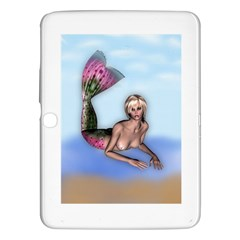 Mermaid On The Beach Samsung Galaxy Tab 3 (10 1 ) P5200 Hardshell Case  by goldenjackal