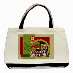 Xmas By Merry Christmas   Basic Tote Bag (two Sides)   V6vldmme3iw4   Www Artscow Com Front