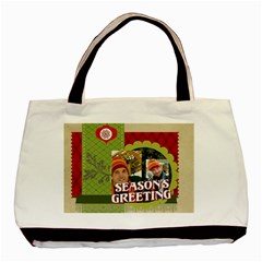 Xmas By Merry Christmas   Basic Tote Bag (two Sides)   V6vldmme3iw4   Www Artscow Com Back