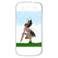 Fairy Sitting On A Mushroom Samsung Galaxy S3 S Iii Classic Hardshell Back Case by goldenjackal