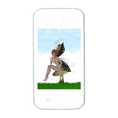 Fairy Sitting On A Mushroom Samsung Galaxy S4 I9500/i9505  Hardshell Back Case by goldenjackal