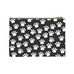 Puppy Cosmetic Bag By Lisa Minor   Cosmetic Bag (large)   Px6bw4bihmmb   Www Artscow Com Back