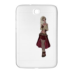Steampunk Style Girl Wearing Red Dress Samsung Galaxy Note 8 0 N5100 Hardshell Case  by goldenjackal