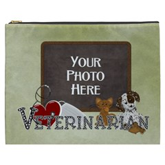 Veterinarian Xxxl Cosmetic Bag By Lisa Minor   Cosmetic Bag (xxxl)   6t6qrr6q7na6   Www Artscow Com Front