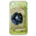 Iris-004 - Apple iPhone 4/4S Hardshell Case (PC+Silicone)
