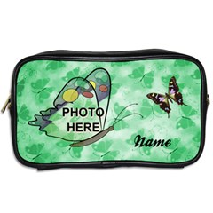 Butterfly Toiletries Bag By Joy Johns   Toiletries Bag (two Sides)   45yb17ordr9e   Www Artscow Com Back