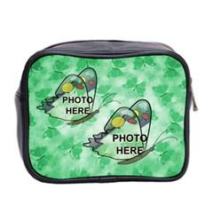 Butterfly Mini Toiletries Bag By Joy Johns   Mini Toiletries Bag (two Sides)   L2dygfse1poi   Www Artscow Com Back