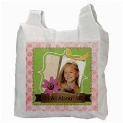Kids By Kids   Recycle Bag (two Side)   Ekijdu1b101q   Www Artscow Com Back