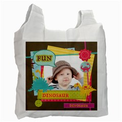 Kids By Kids   Recycle Bag (two Side)   187vgwci0mo7   Www Artscow Com Front