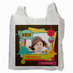 Kids By Kids   Recycle Bag (two Side)   187vgwci0mo7   Www Artscow Com Back