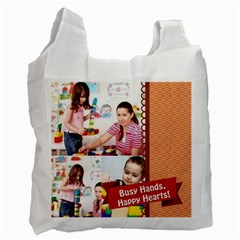Kids By Kids   Recycle Bag (two Side)   2w2f2xbpnh82   Www Artscow Com Front
