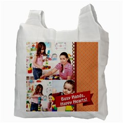 Kids By Kids   Recycle Bag (two Side)   2w2f2xbpnh82   Www Artscow Com Back