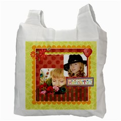 Kids By Kids   Recycle Bag (two Side)   Adi3xer5jg5c   Www Artscow Com Back