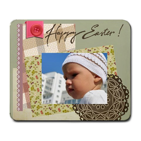 Easter By Easter   Collage Mousepad   Wn9y9dcec2ck   Www Artscow Com 9.25 x7.75 Mousepad - 1