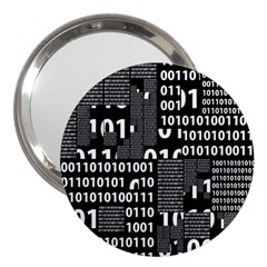 Beauty Of Binary 3  Handbag Mirror by StuffOrSomething