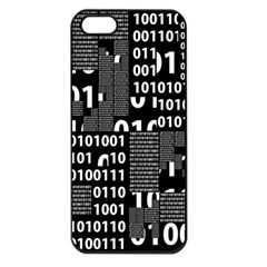 Beauty Of Binary Apple Iphone 5 Seamless Case (black) by StuffOrSomething