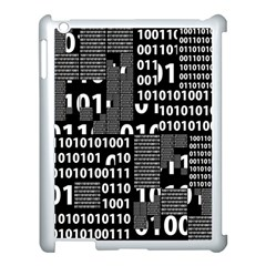 Beauty of Binary Apple iPad 3/4 Case (White) by StuffOrSomething