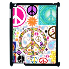 Peace Collage Apple Ipad 2 Case (black) by StuffOrSomething