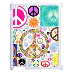 Peace Collage Apple Ipad 2 Case (white) by StuffOrSomething