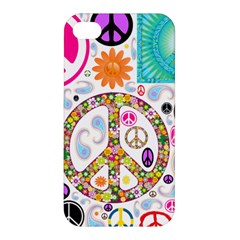 Peace Collage Apple Iphone 4/4s Hardshell Case by StuffOrSomething
