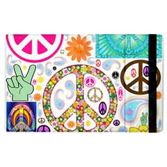 Peace Collage Apple Ipad 3/4 Flip Case by StuffOrSomething