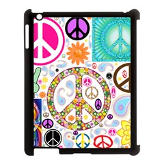 Peace Collage Apple Ipad 3/4 Case (black) by StuffOrSomething