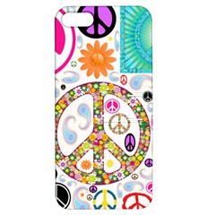 Peace Collage Apple Iphone 5 Hardshell Case With Stand by StuffOrSomething